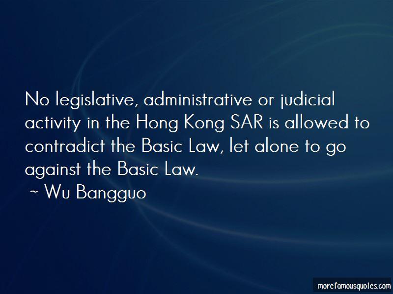 Wu Bangguo Quotes Pictures 2