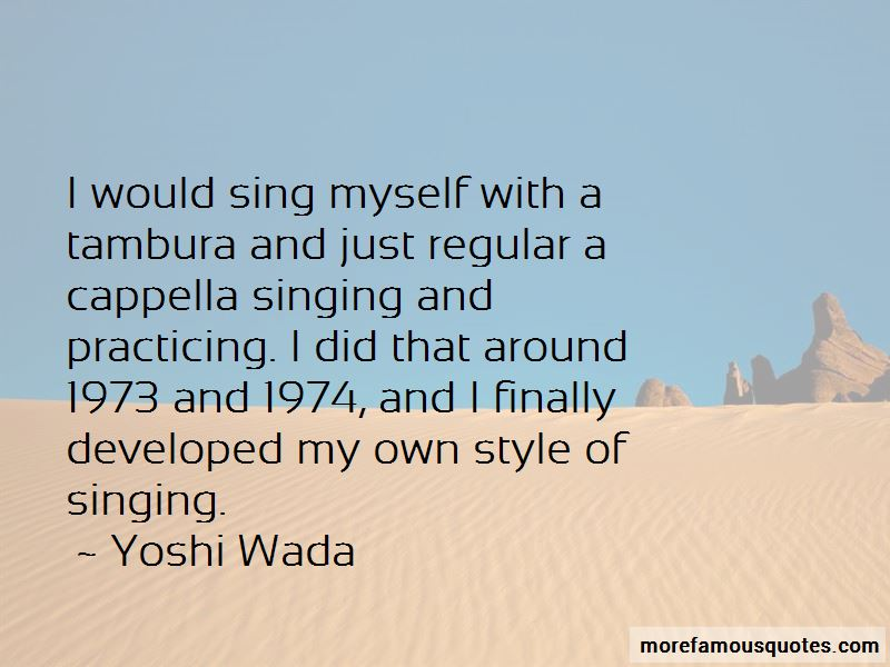 Yoshi Wada Quotes Pictures 3