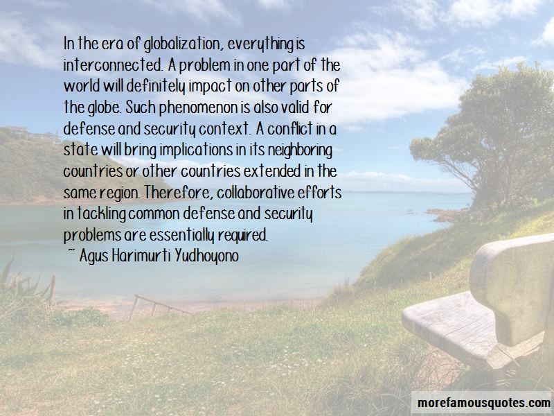 Agus Harimurti Yudhoyono Quotes
