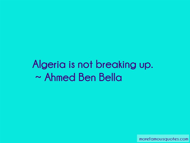 Ahmed Ben Bella Quotes Pictures 4