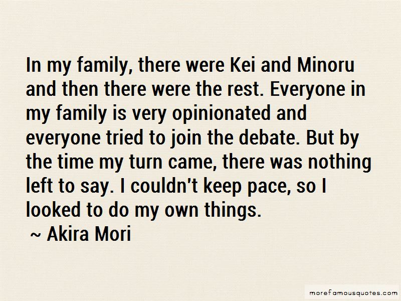 Akira Mori Quotes Pictures 4