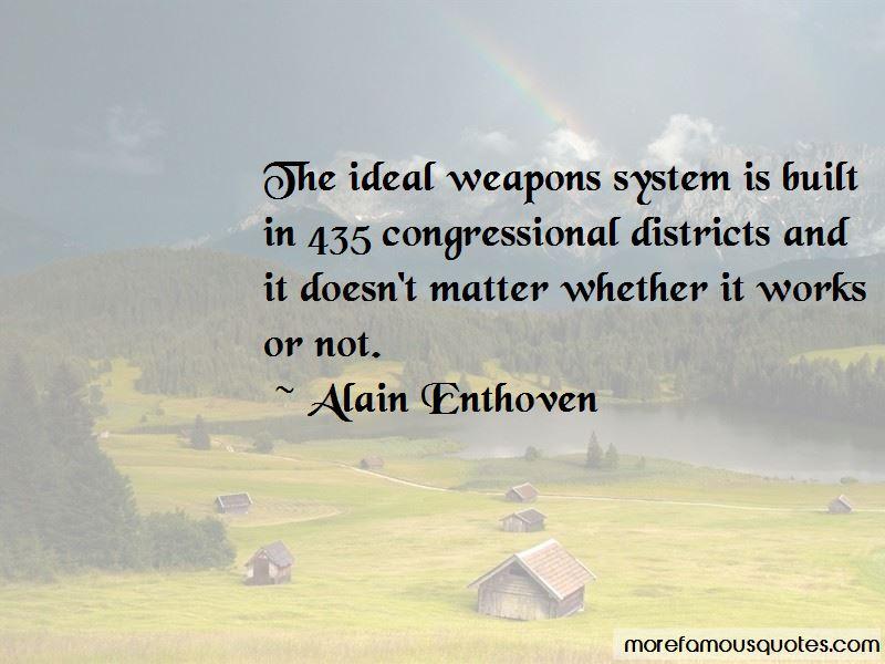 Alain Enthoven Quotes