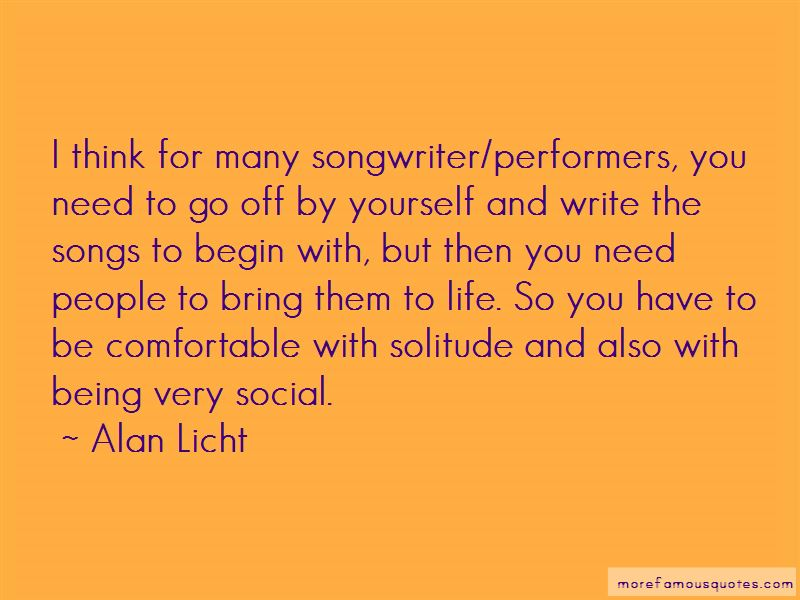 Alan Licht Quotes Pictures 2