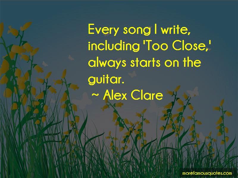 Alex Clare Quotes