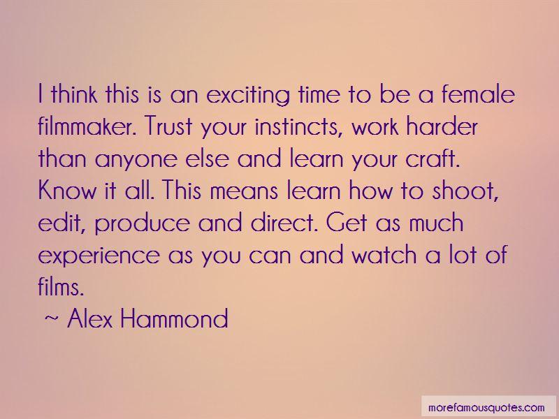 Alex Hammond Quotes Pictures 2