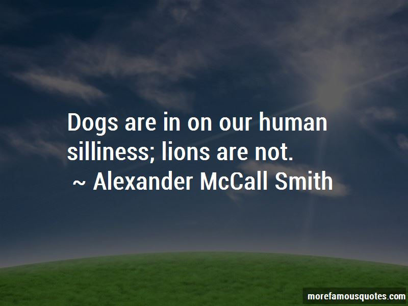 Alexander McCall Smith Quotes Pictures 4
