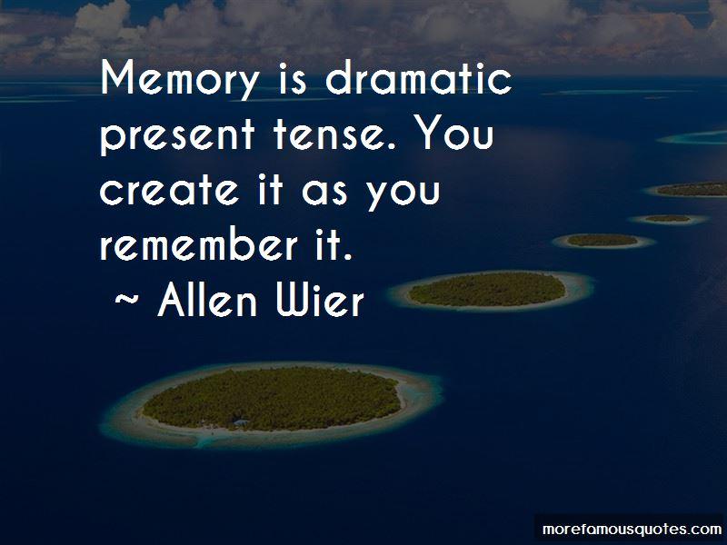 Allen Wier Quotes Pictures 2