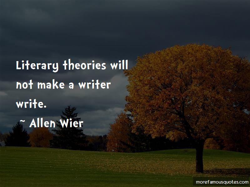 Allen Wier Quotes Pictures 3