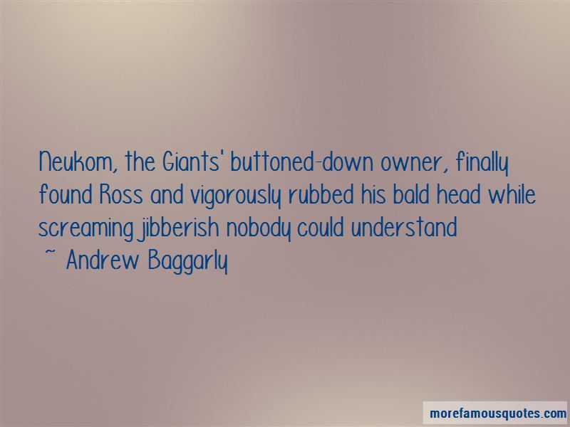 Andrew Baggarly Quotes Pictures 2