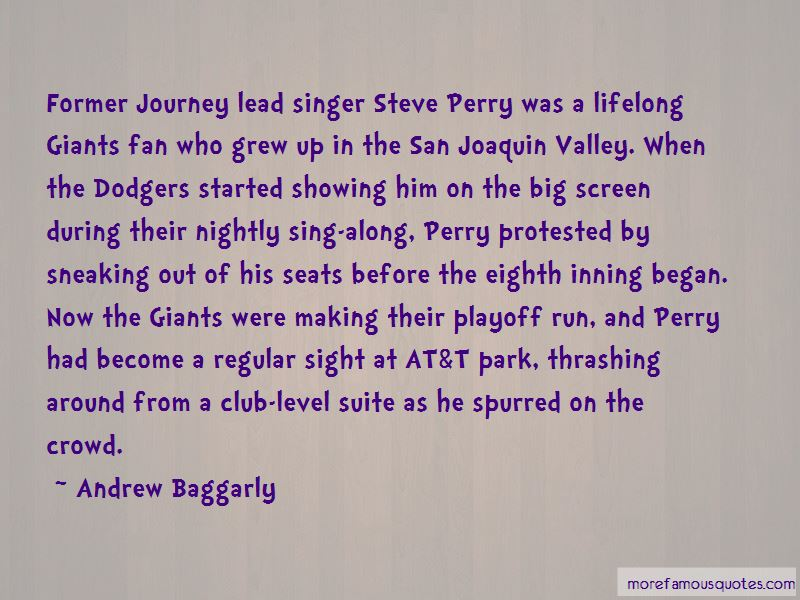 Andrew Baggarly Quotes