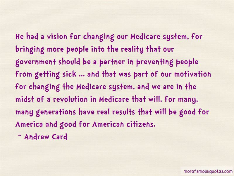 Andrew Card Quotes
