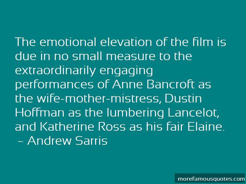 Andrew Sarris Quotes Pictures 2
