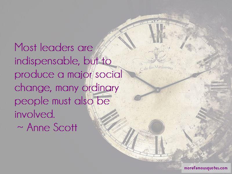 Anne Scott Quotes