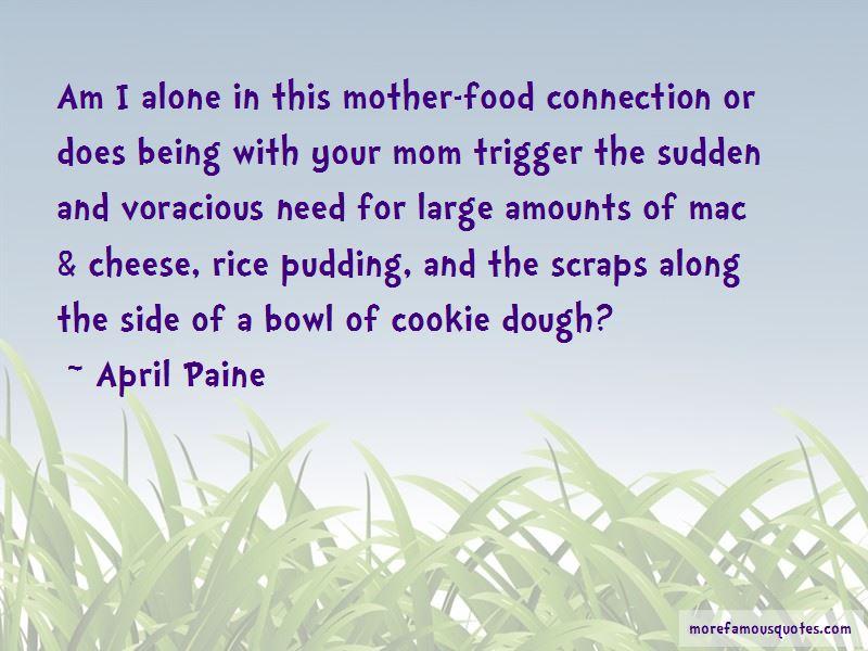 April Paine Quotes