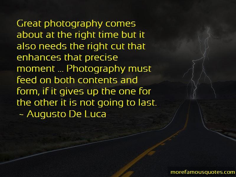 Augusto De Luca Quotes Pictures 2