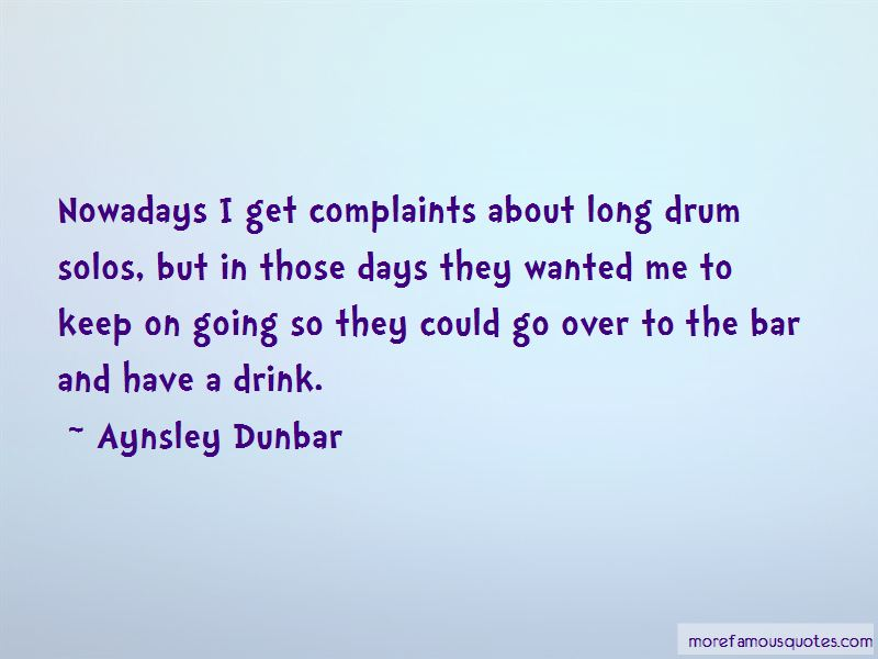 Aynsley Dunbar Quotes Pictures 2