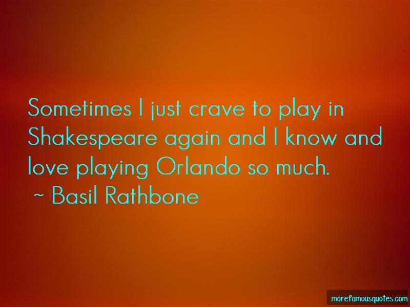 Basil Rathbone Quotes
