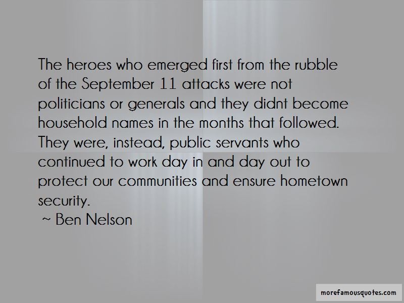 Ben Nelson Quotes Pictures 4