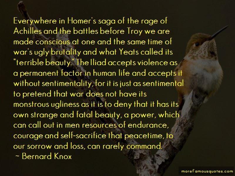 Bernard Knox Quotes