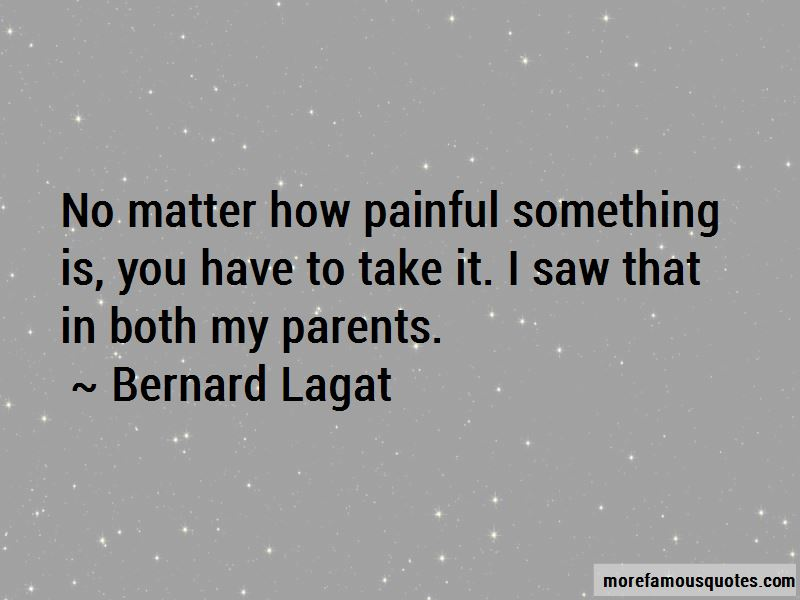 Bernard Lagat Quotes