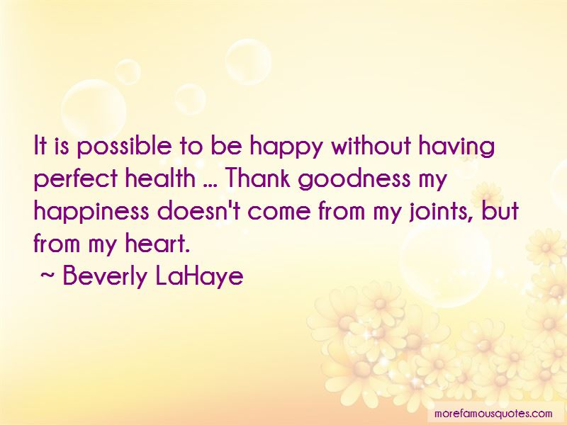 Beverly LaHaye Quotes Pictures 3