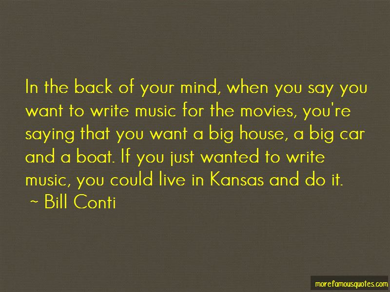 Bill Conti Quotes Pictures 2