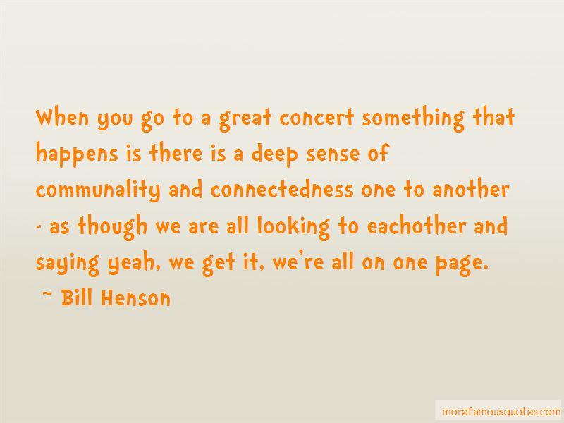 Bill Henson Quotes