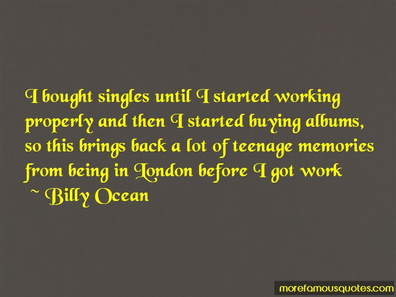 Billy Ocean Quotes Pictures 3