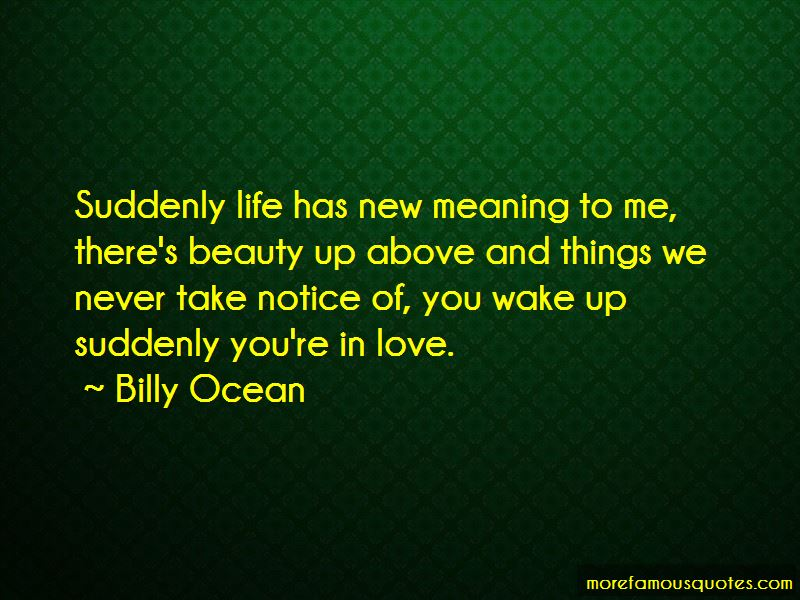 Billy Ocean Quotes Pictures 4