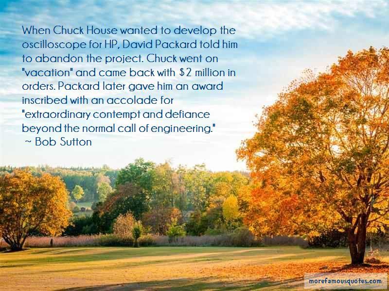 Bob Sutton Quotes