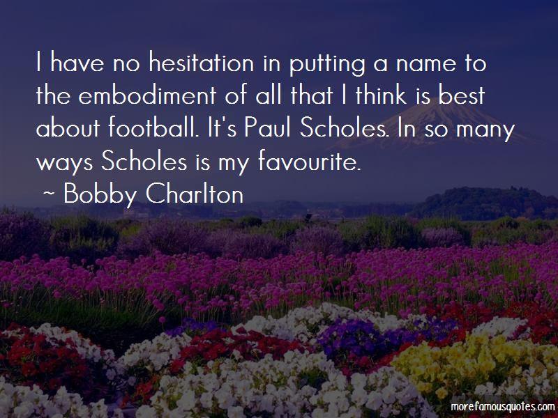 Bobby Charlton Quotes