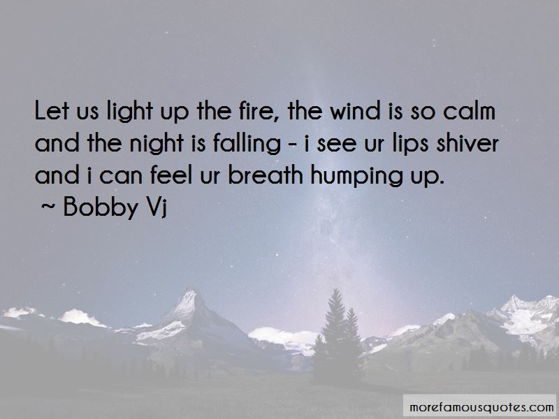 Bobby Vj Quotes