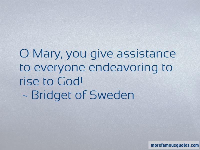 Bridget Of Sweden Quotes