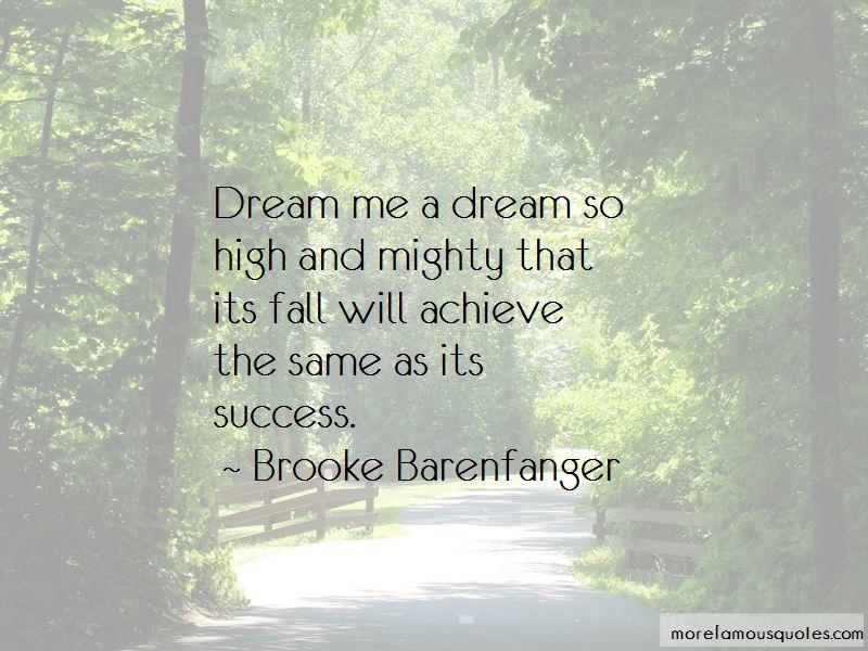 Brooke Barenfanger Quotes