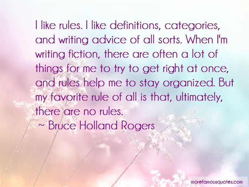 Bruce Holland Rogers Quotes Pictures 2