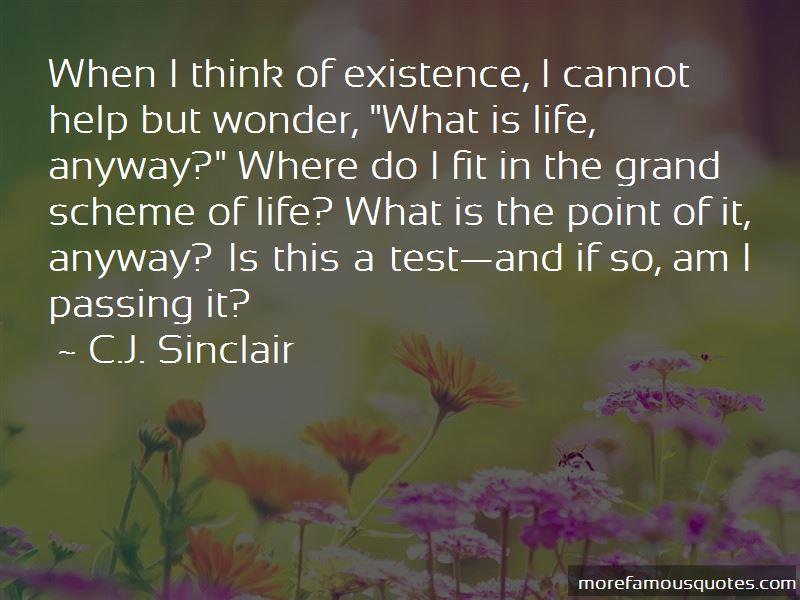 C.J. Sinclair Quotes