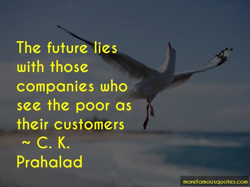 C. K. Prahalad Quotes Pictures 2