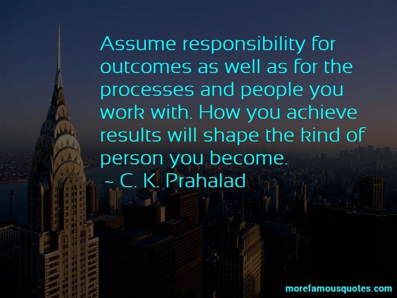 C. K. Prahalad Quotes Pictures 4