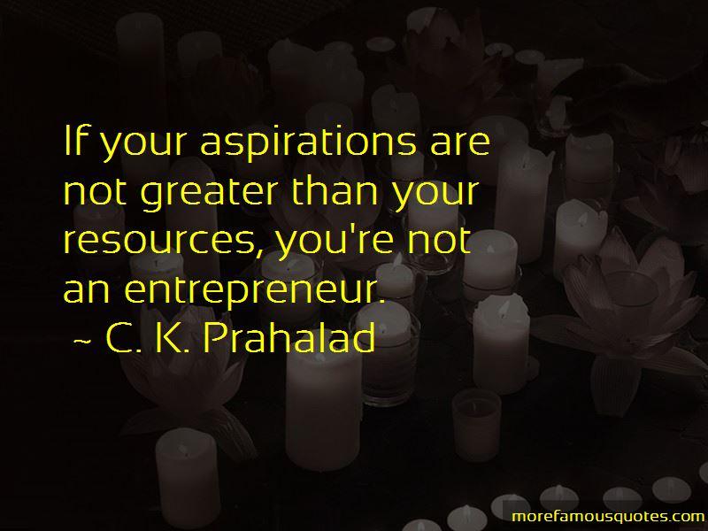 C. K. Prahalad Quotes