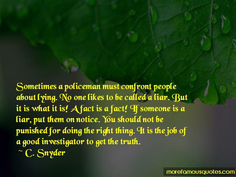 C. Snyder Quotes