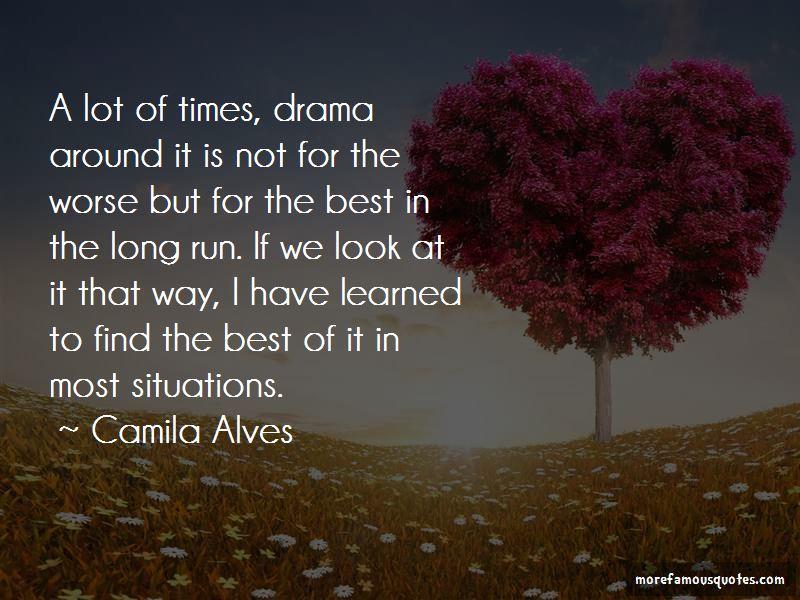 Camila Alves Quotes