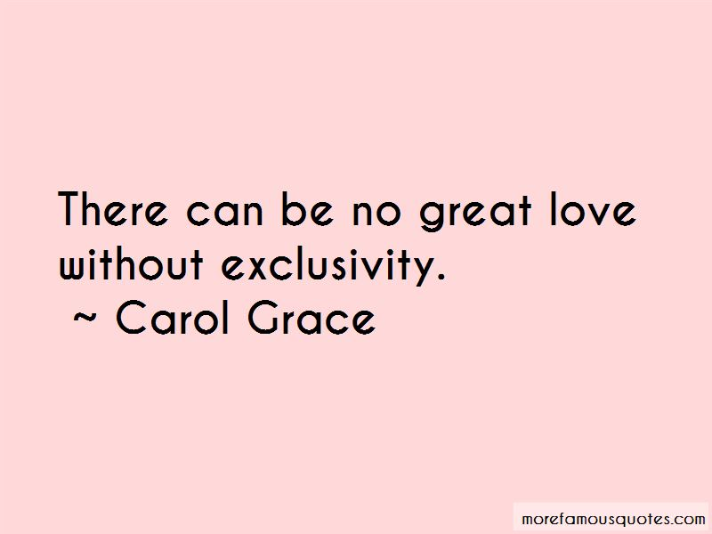Carol Grace Quotes Pictures 3