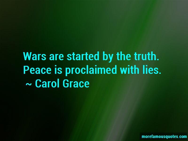 Carol Grace Quotes