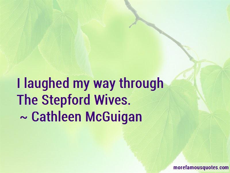 Cathleen McGuigan Quotes
