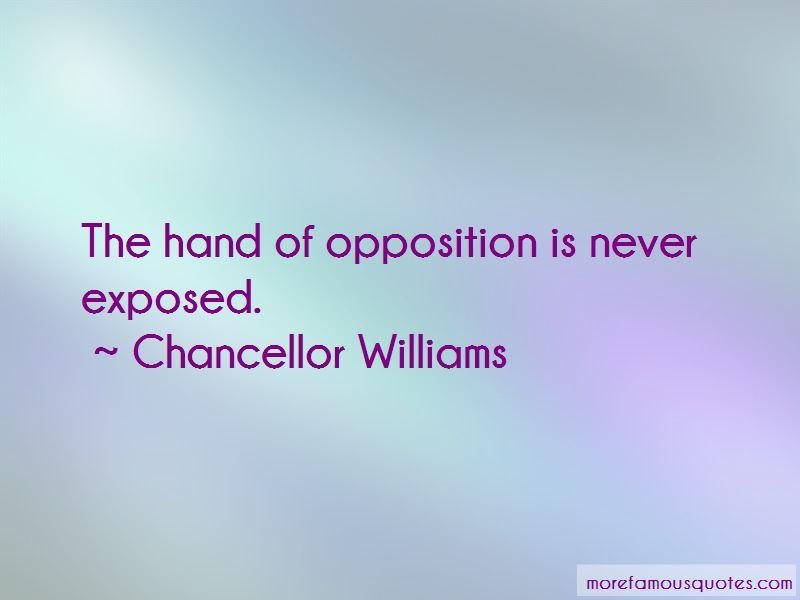 Chancellor Williams Quotes