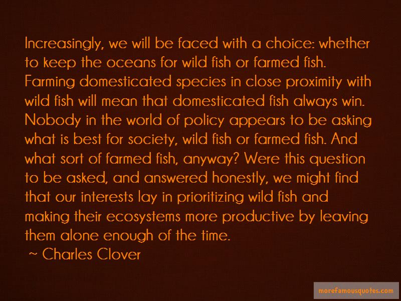 Charles Clover Quotes Pictures 2