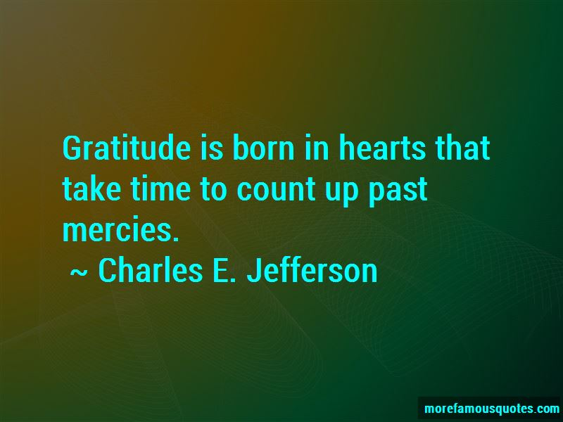 Charles E. Jefferson Quotes