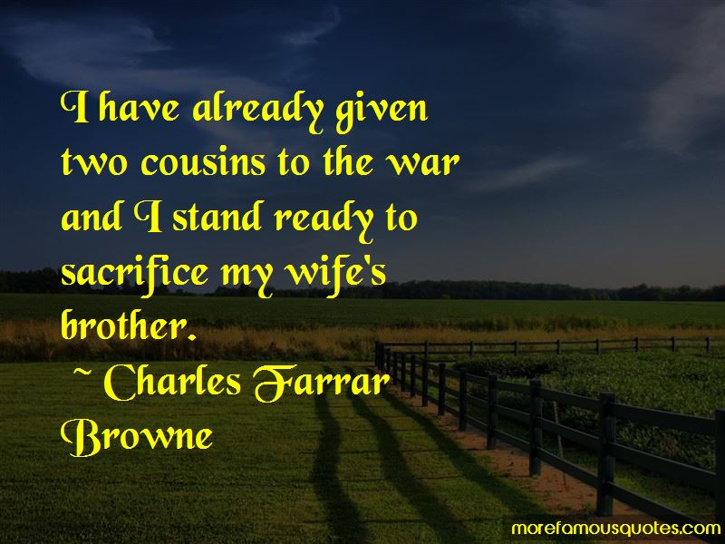 Charles Farrar Browne Quotes Pictures 4