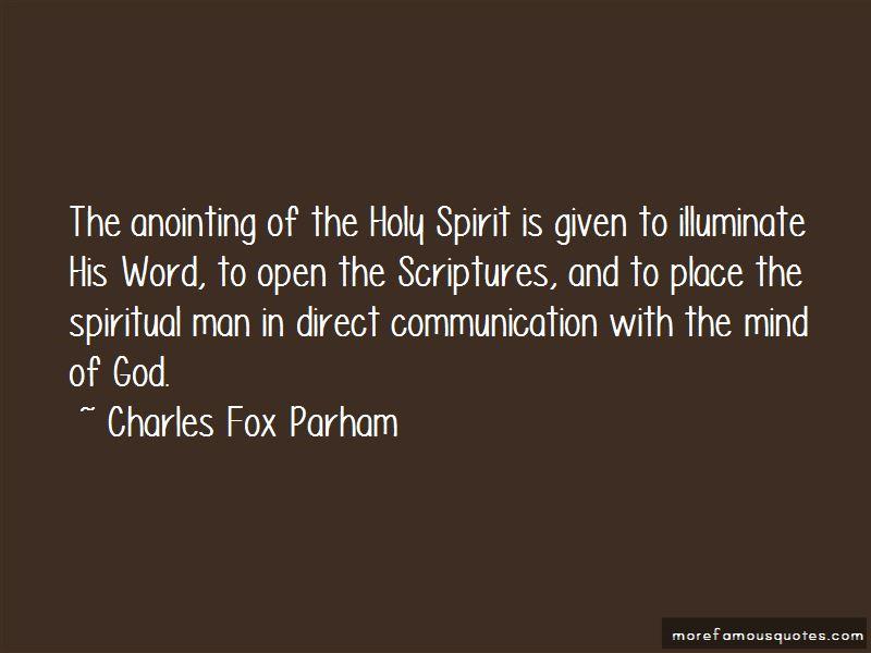 Charles Fox Parham Quotes