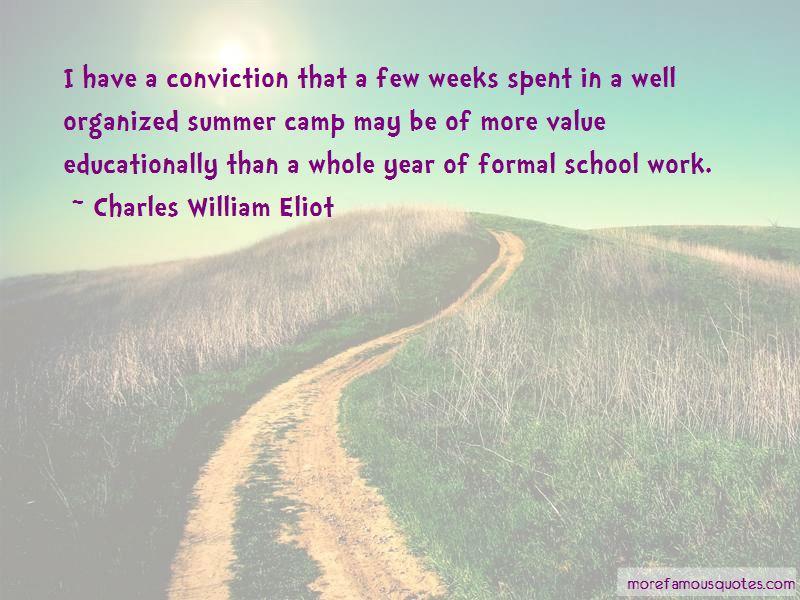Charles William Eliot Quotes Pictures 3